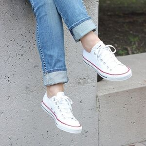 New Adult Converse White All Star Chuck Taylor